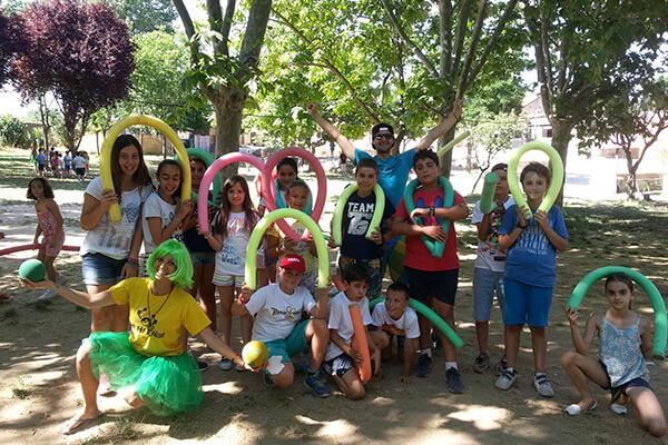 Summer camp in Madrid