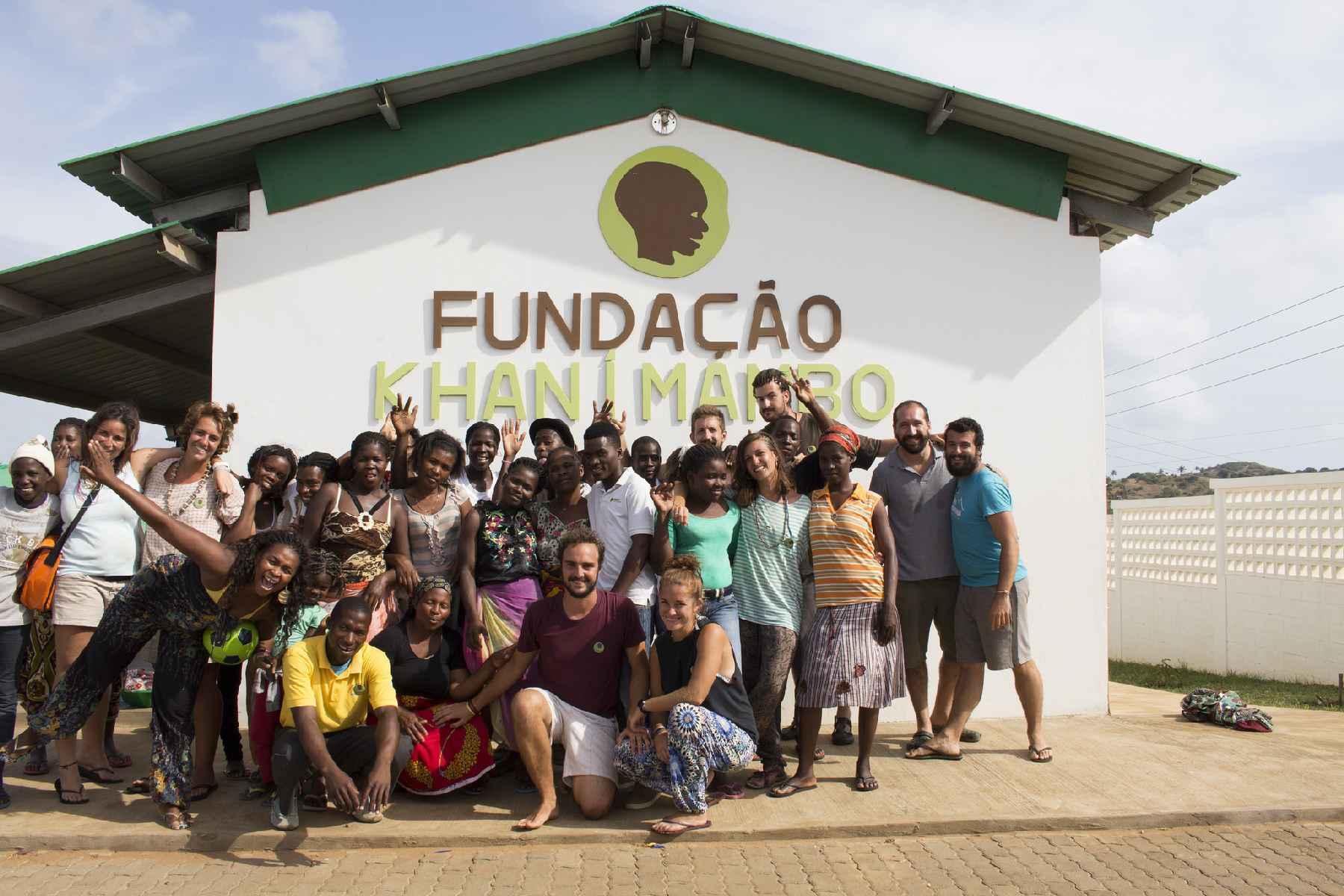 Campamento de verano en Mozambique