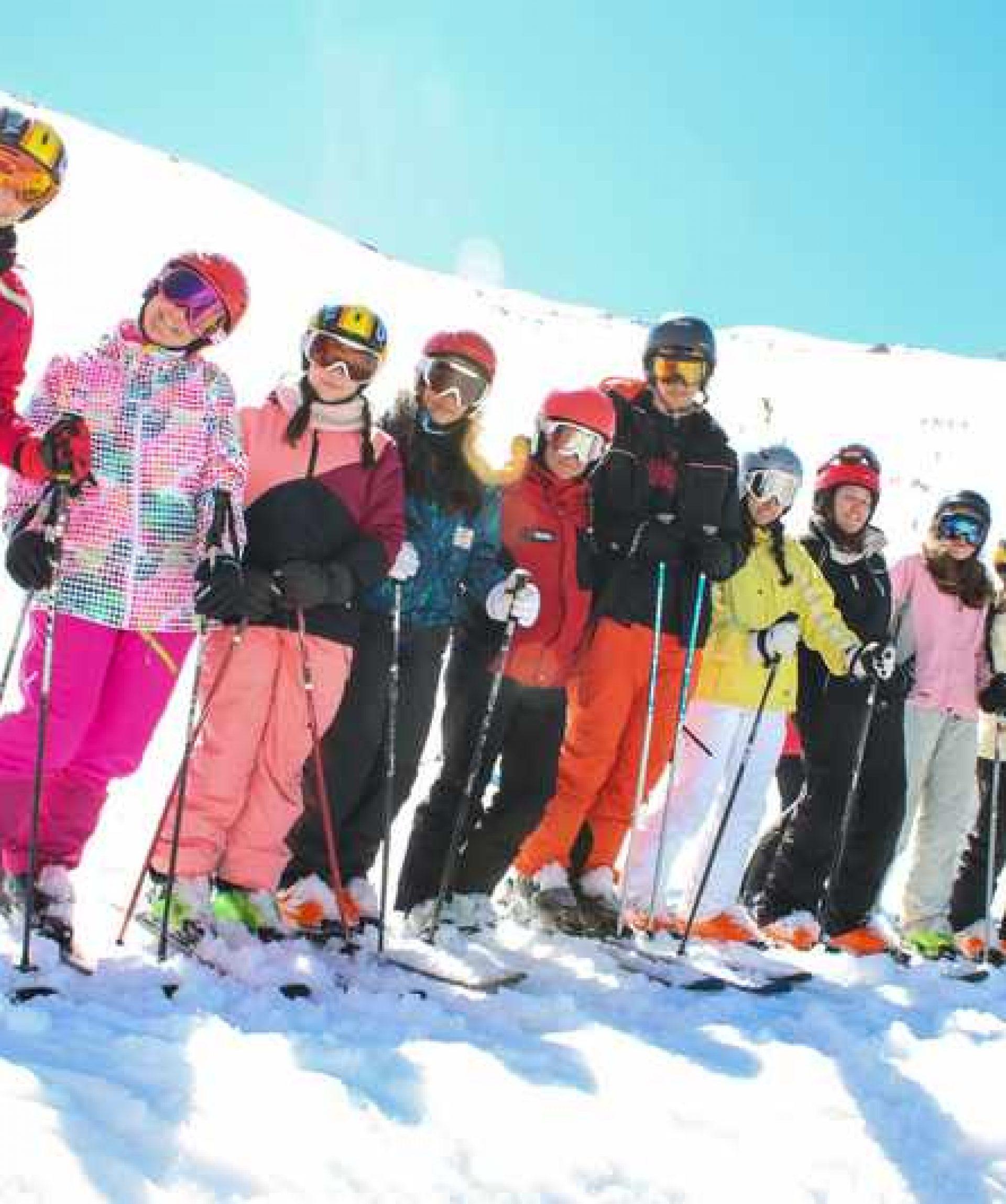 cursos de esqui junior