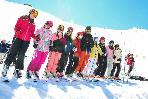 curso de esqui junior