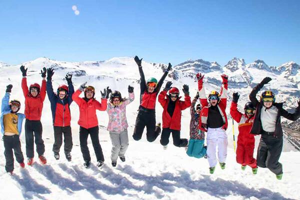 viaje de esqui Alto campoo
