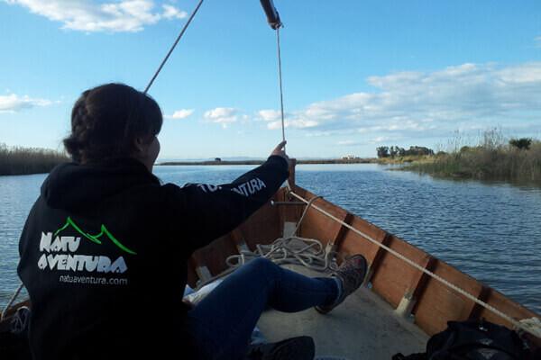 Viaje fin de curso a Delta del Ebro con guía Natuaventura