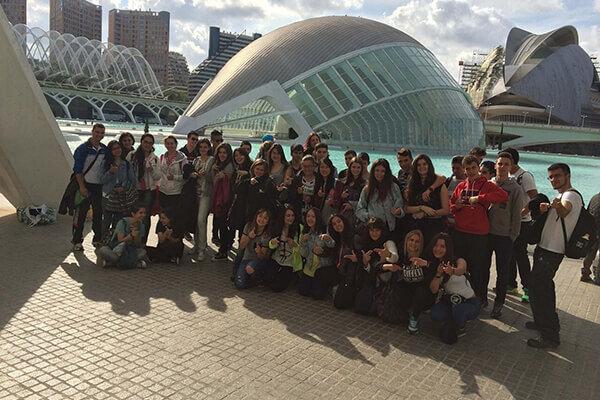 Viaje fin de curso a Valencia Inmersión Lingüística