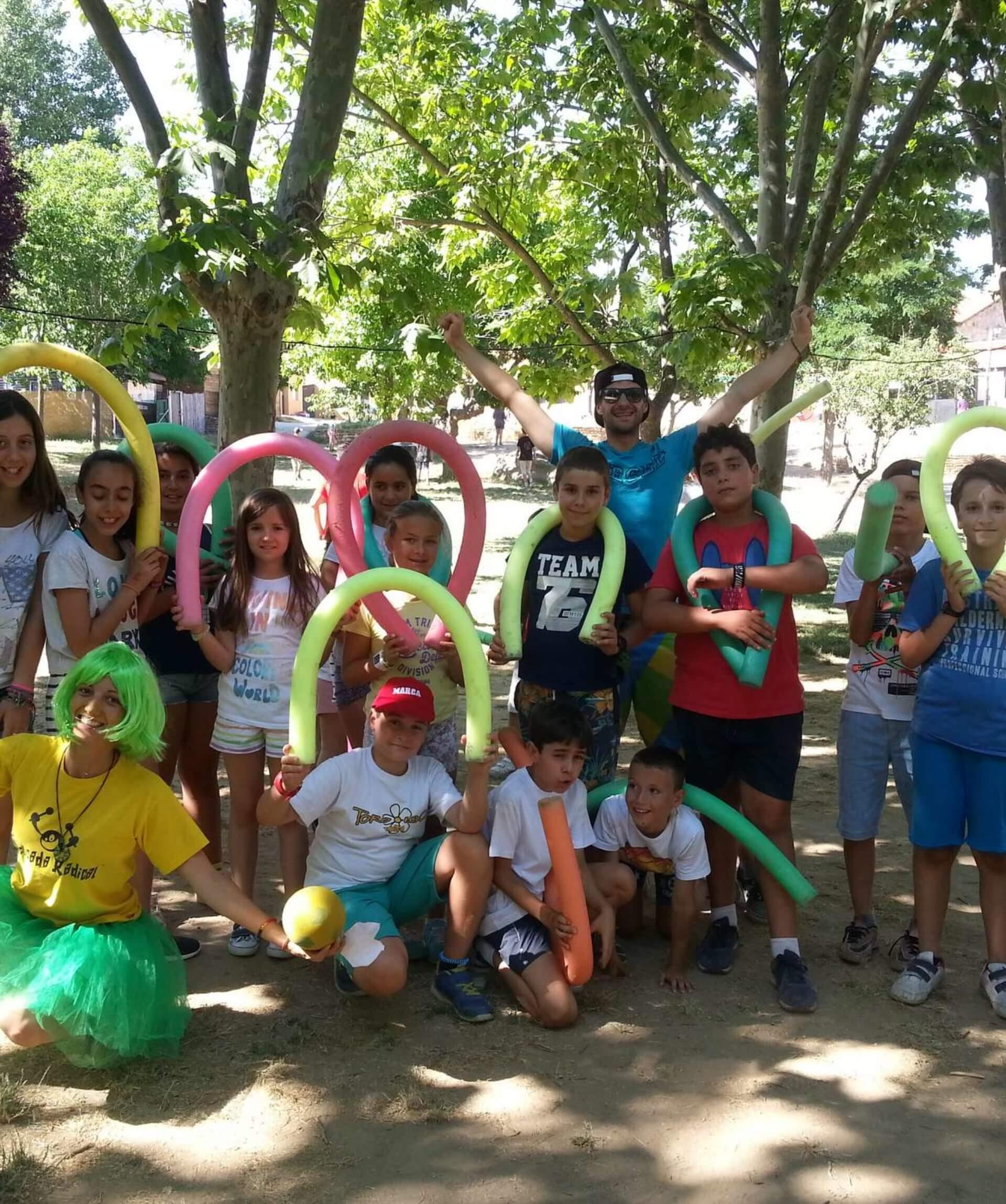 Campamento de verano en inglés en Madrid