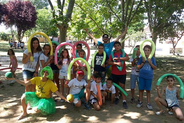 Campamento de verano en inglés en la sierra de Madrid