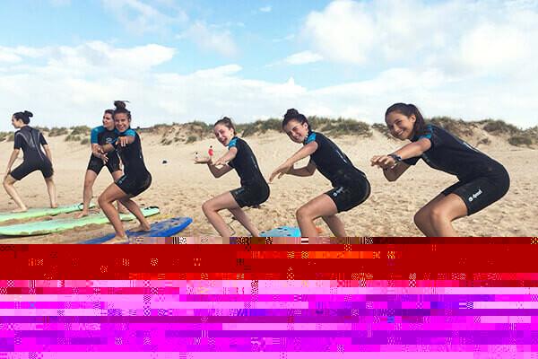 Viaje fin de curso a Cantabria Surf sin monitores