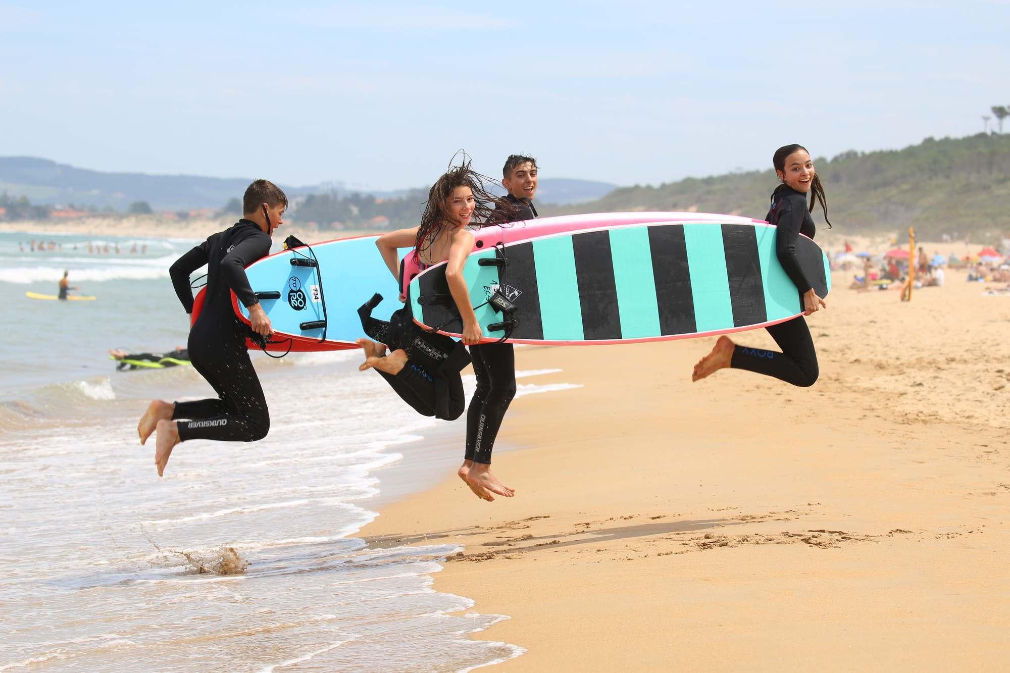 Viaje fin de curso a Asturias Surf sin monitores