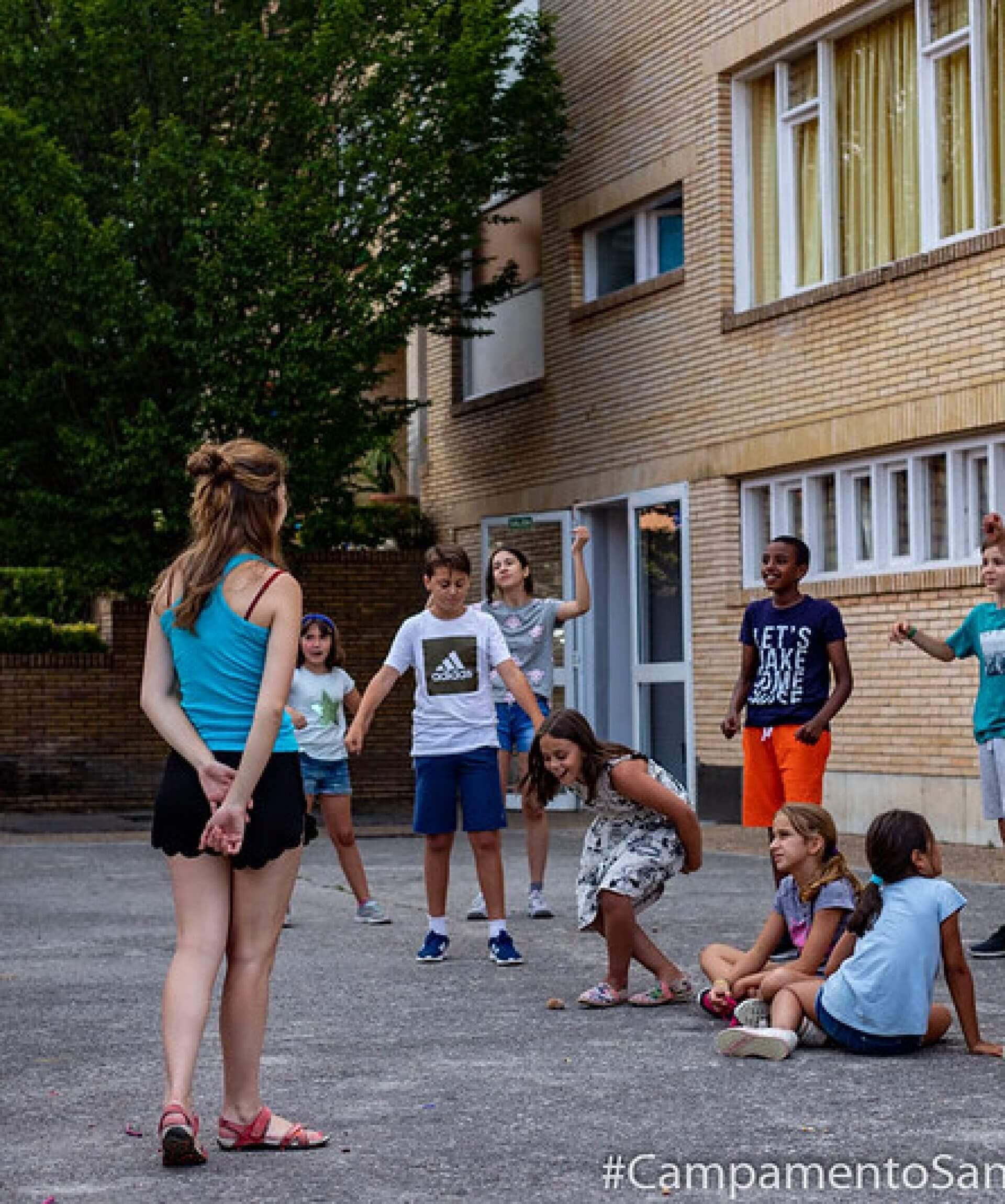 apuntar a nuestros hijos en un campamento urbano