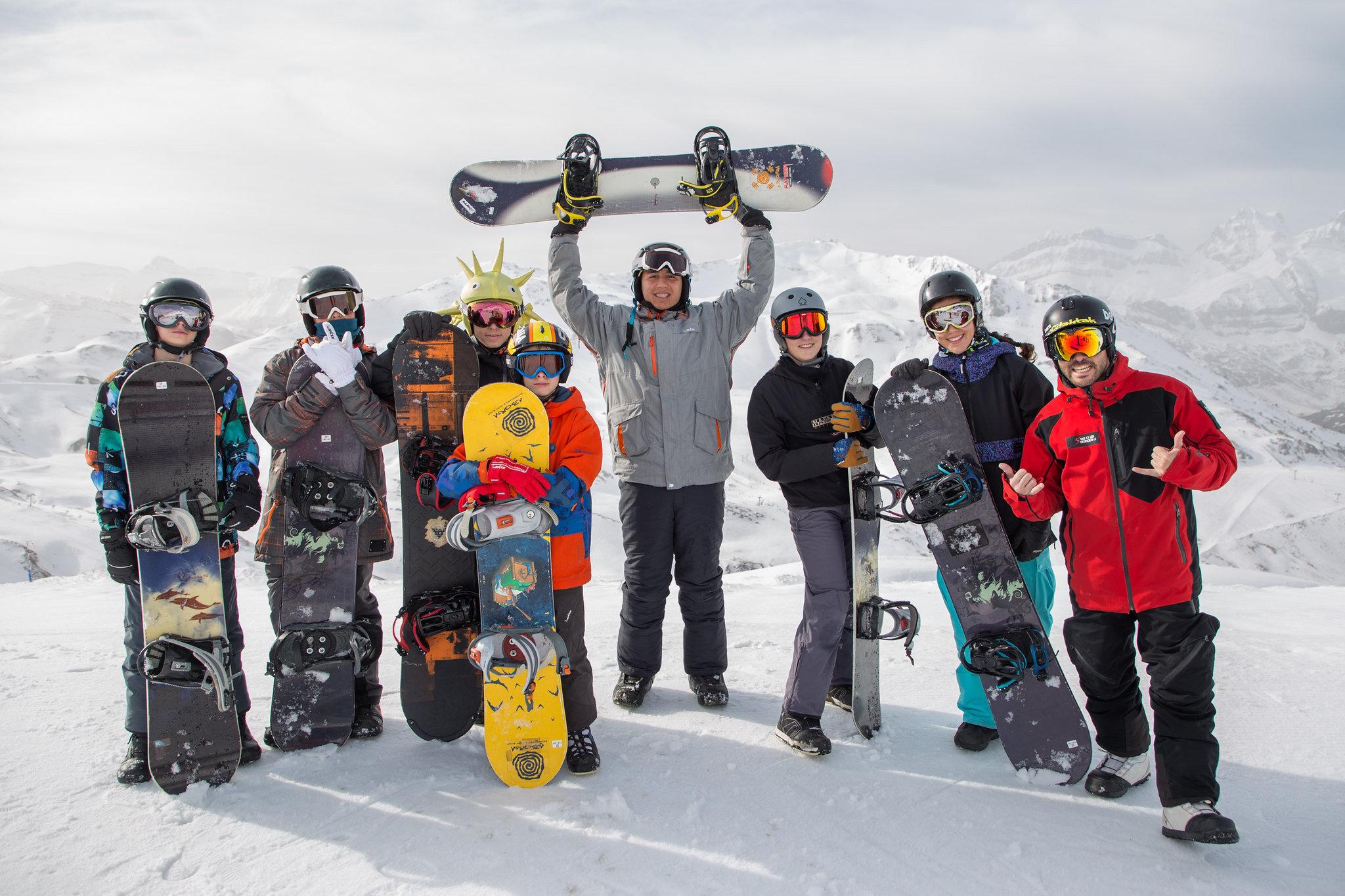 Curso Snowboard